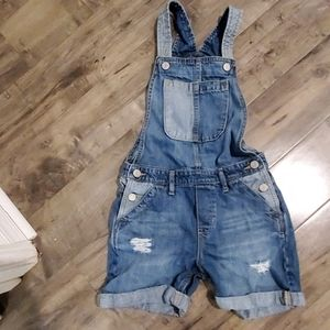 GAP Kids short overalls